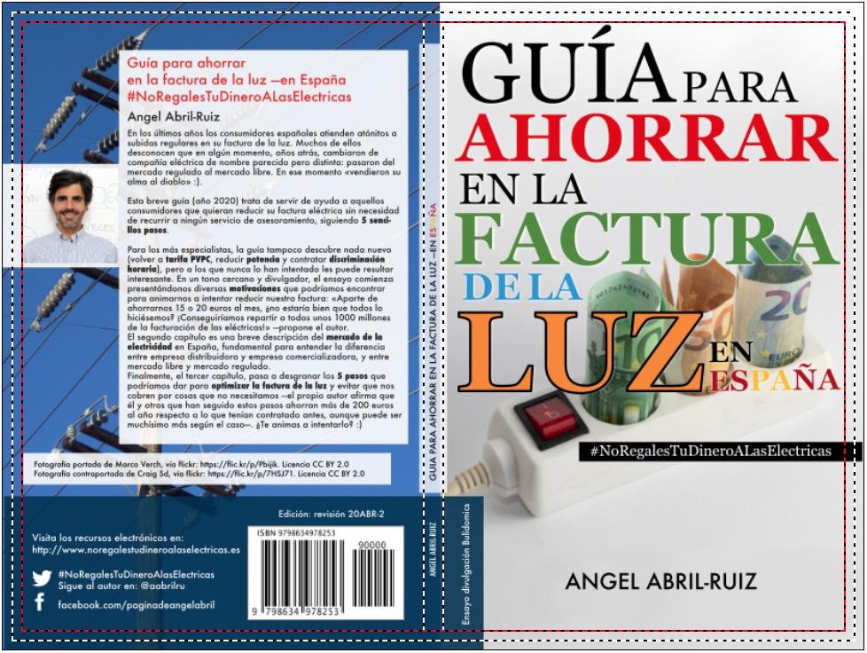 Portada - Guía para reducir la factura de la luz -en España - Maqueta 25 de abril 2020